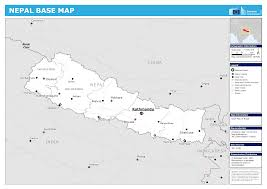 Map Of Nepal And China by Nepal Map Blank Political Nepal Map With Cities