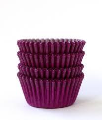 mini purple cupcake liners purple mini baking cups 60