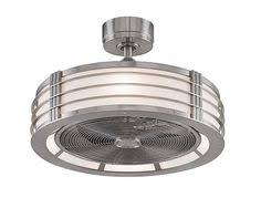brette 23 in led indoor outdoor brushed nickel ceiling fan home decorators collection brette 23 in led indoor outdoor espresso