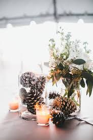 rustic center pieces 16 easy rustic centerpieces for winter christmas table decorations