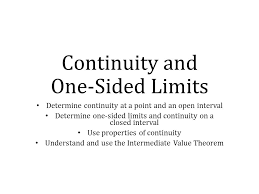 sat prep continuity and one sided limits determine continuity at