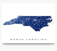 usa carolina map carolina map print nc state outline usa