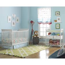 Baby Girl Nursery Furniture Sets by Fisher Price 3 In 1 Nursery Furniture Set With Mattress Misty Gray