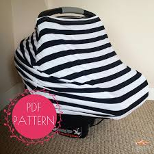 Carseat Canopy For Boy by Car Seat Cover Nursing Cover Sewing Pattern Diy Stretchy Baby
