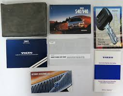 2001 volvo s40 v40 owners manual guide book bashful yak