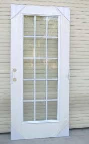 Exterior Glass Door Inserts Lite Steel Glass Doors Entry Doors Door Glass Panels