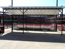 Powered Awnings Solar Power Awnings Architectural Awnings Commercial Building