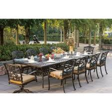 Hayneedle Patio Furniture Outdoor Dining Sets For 10 Or More On Hayneedle 11 Piece Patio