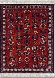 Persian Rug Mouse Mat by Early Turkmen Licensed From De Young Museum Mouserug Mouserug