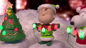 peanuts gang christmas lights show youtube
