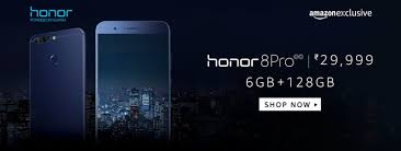 honor 8 pro exclusive launch at amazon in subscribe to notify on