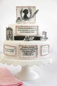 ten awesome literary themed wedding cakes booktrib
