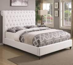 Bed Frame Set Bedroom S Platform Tufted Ebay New Size Frame With Shoe