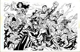justice league coloring pages cool justice league coloring pages