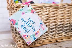 Mother S Day Basket New Mother U0027s Day Gift Basket Hey Let U0027s Make Stuff