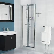 Shower Bifold Door Shower Bi Fold Shower Doors Glass Framelessifold Lowes Home