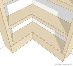 Woodworking Plans Corner Shelves by Diy Projects Corner Cupboard Woodworking Plans Ana White Latest