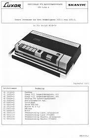 luxor bg1d19 1 t 640g bg1d 19 cassette recorder service manual