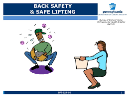 bureau workers comp back safety safe lifting by bureau of workers comp paths