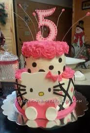 coolest kitty 5th birthday cake