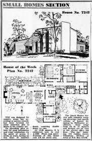 Architectural Building Plans Mid Century Modern House Plans 1950 Modern Ranch Style House