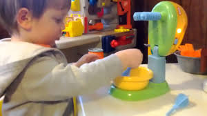 Little Tikes Toaster Playing With Little Tikes Mixer Youtube