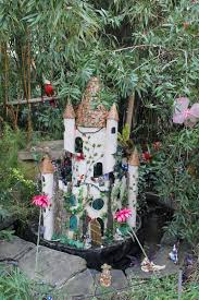 jibberjabberuk fairies in the winter garden