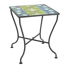 outdoor mosaic accent table 114 best outdoor furniture outdoor tables images on pinterest