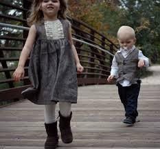 matching sibling pinstripe linen or