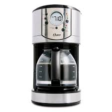 Walmart Coffee Grinder Oster 12 Cup Stainless Steel Programmable Coffee Maker