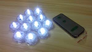 small lights for crafts 36pcs lot floralyte remote control white submersible mini single led
