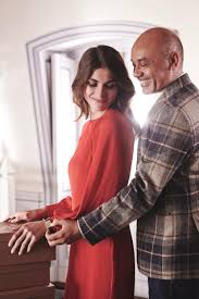 elisa sednaoui and christian louboutin appear in jaeger lecoultre