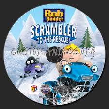 bob builder scrambler rescue dvd label dvd covers