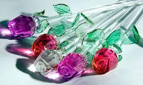 glass roses photos by ko lenka