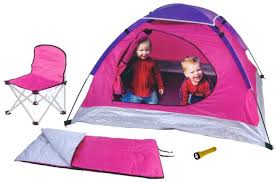 chair tents 4pc cing set play tent kids dome playtent child