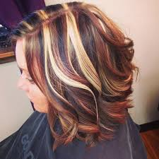 how to add colour chunks to hairstyles highlights and low lights became into style after the chunky light