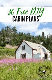 Cottage Plans Free 30 Free Diy Cabin Plans