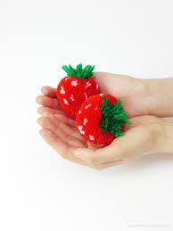 Decorative Ways To Cut Strawberries Pom Pom Fruit Mr Printables