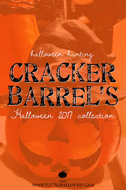 halloween hunting cracker barrel u0027s halloween 2017 collection