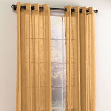 Crushed Sheer Voile Curtains by Crushed Voile Grommet Curtain Sheer Curtains Brylanehome