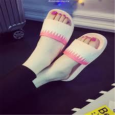 slip on slippers non slip shower sandals house mule soft foams