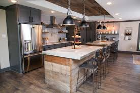 kitchen with 2 islands a fixer for a most eligible bachelor hgtv s fixer with