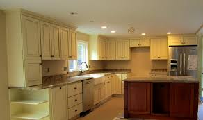 Kitchen  Knockout Simple And Cool Cream Kitchen Cabinets For Your - Kitchen cabinet glaze colors