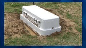 baby casket tennessee finds 6 month grandson s casket floating in