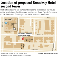 tif commission will hear broadway hotel expansion proposal