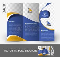 tri fold school brochure template tri fold school brochure template vector illustration royalty free