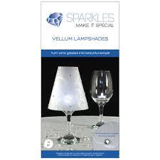 Beautiful Wine Glasses 12 Wine Glass Lamp Shades Rhinestone Wedding Party Table