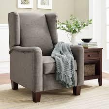 furniture elegant queen anne recliner for luxury armchair design