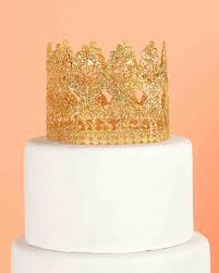 crown cake toppers 10 wedding cake toppers we re loving right now martha