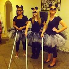 Womens Homemade Halloween Costume Ideas 25 Blind Mice Costume Ideas Blind